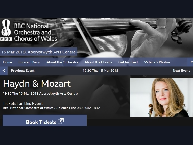 BBC National Orchestra of Wales – Lesley Hatfield